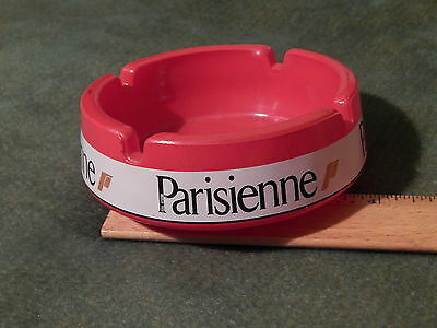 Parisienne Cigarettes (European Tobacco) Red/White ASHTRAY (Ltd.) FRANCE