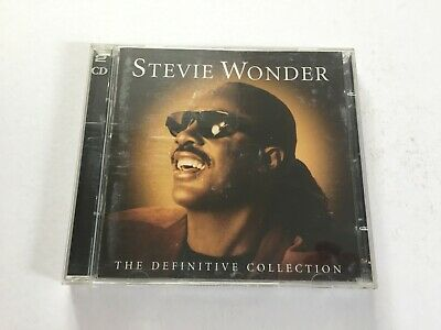 Stevie Wonder: The Definitive Collection: 2 x CD Album: 2005: Free Fast P&P