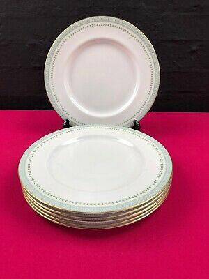 """6 x Royal Doulton Berkshire Dinner Plates Extra Large 10.75"""" 2 Sets Available"""