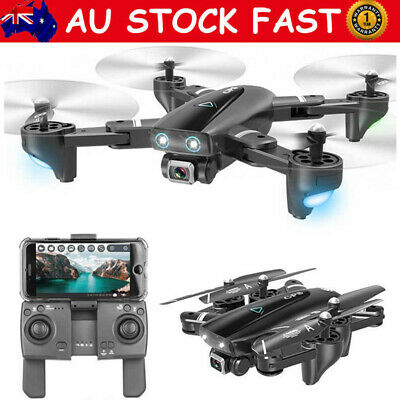 WLR/C Dual GPS FPV With 1080P HD Camera Wifi RC Drone Quadcopter Follow Me AU
