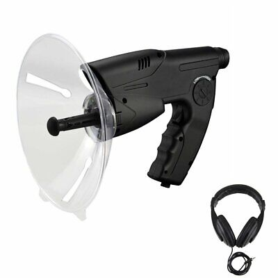 Outdoor Sound Amplifier Voice Recorder Telescope Bird Watching Listening Device