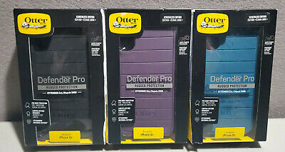 """NEW Rugged Case by Otterbox Defender PRO for 6.1"""" iPhone XR COLORS"""