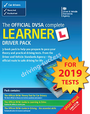 The Official DVSA Complete Learner Driver Pack for Theory Test & Practical Test