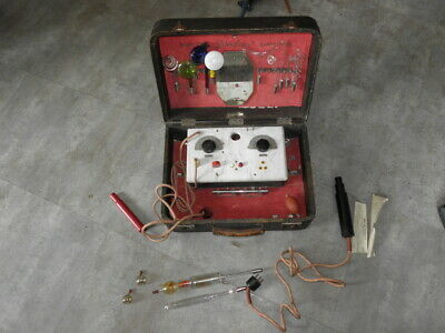 antique Ultraviolet violet ray High Frequency Generator Quack Medical Vitaeforts