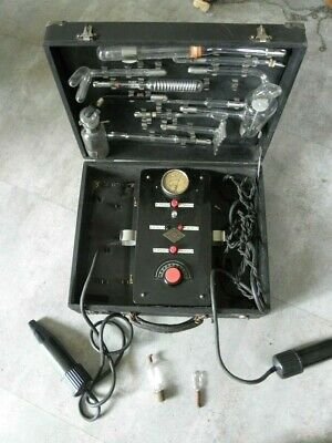 antique Ultraviolet violet ray ixu High Frequency Generator Quack Medical retro