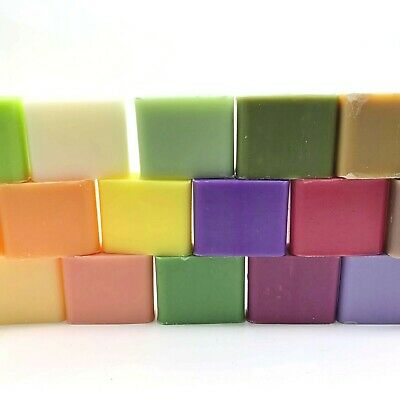 Savon de Marseille French 30g SQUARE GIFT SOAP Wedding Hotel Travel Shea Butter