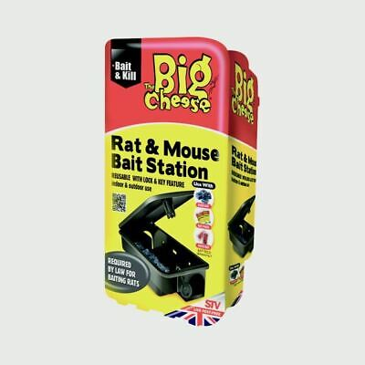 The Big Cheese Rat  Mouse Bait Station   Bait Stations STV179