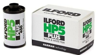 2 pack Ilford 1574577 HP5 Plus Black & White Print Film 35mm ISO 400 36 Exposure