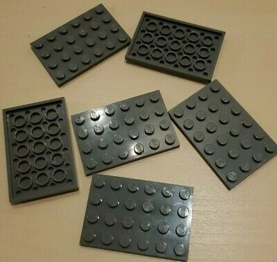 SELECT COLOUR 3 x NEW LEGO Plates 4x6 FREE POSTAGE Part 3032