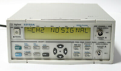 Agilent 53150A 20GHz CW Microwave Frequency Counter