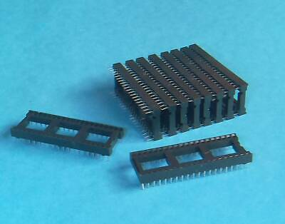 10 X 40 Pines Dip Dil Pcb Ic Socket