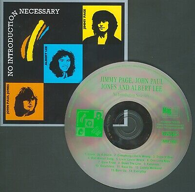 JIMMY PAGE  No Introduction Necessary 1968. Rare Original UK TKO. Led Zeppelin