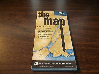 New York City Subway Map February 2004.July 2001 New York City Transit Subway Lirr Metro North Fold Out