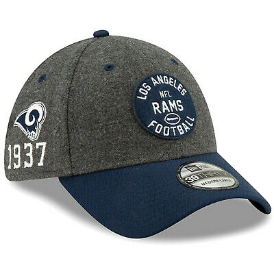2019 Los Angeles Rams LA New Era 39THIRTY NFL Sideline Home On Field Cap Hat