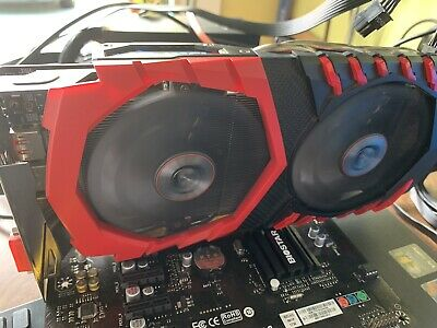 MSI RADEON R9 380 4GB Gaming Series GRAPHICS CARD *USED
