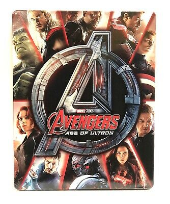 Avengers: Age of Ultron (Blu-ray Disc, 4K Ultra HD, 2-Disc) Best Buy Steelbook