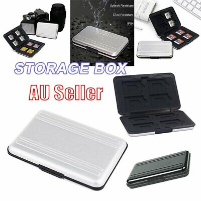 Waterproof Memory Card Case Storage Box Holder for Micro SD SDXC SDHC TF Card EA