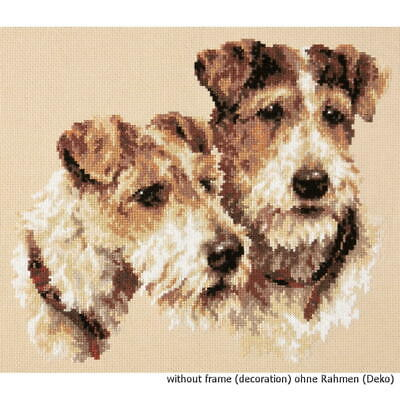 "West Highland Terrier Counted Cross Stitch Kit 8/"" x 9.75/"" 20.3cm x 25cm Free P/&P"