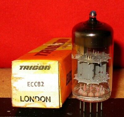12AU7 / ECC82 Tube .. New Old Stock ..Tested .. Price each - 5 Available