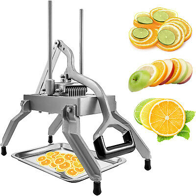 "Commercial Onion Slicer Vegetable Cutter Fruit Dicer 3/8"" Blades Stainless Steel"