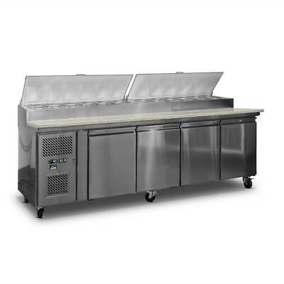AG 4 Saladette with G/N 1/3 GN trays x 12 AG Equipment 