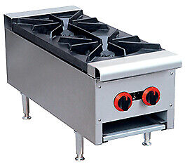 GasMax Cook Top NG 2 Burners With Flame Failure 300mm Wide RB-2E