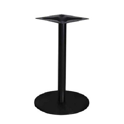 Sharon Round Table/Bar Base - Epoxy Matt Black Cafe Ideas|