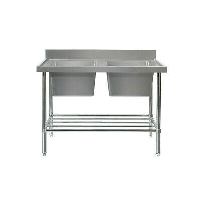 MixRite Double Sink Bench 700 x 900 mm