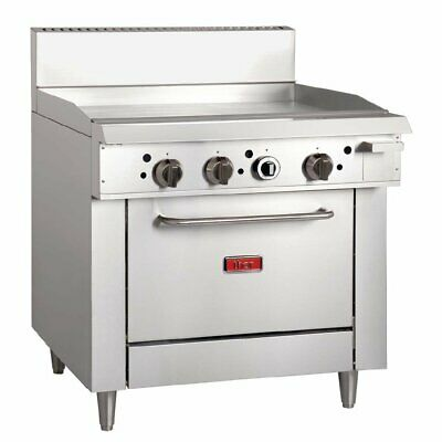 Thor Natural Gas Freestanding Oven Range with Griddle Plate