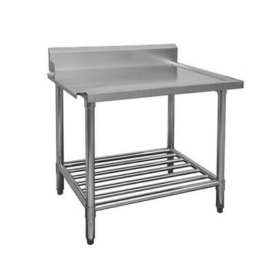 Modular Systems Stainless Steel Dishwasher Bench Left Outlet