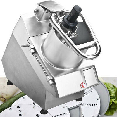 VC Vegetable Cutter Full Moon Feed Hooper 400kg/h