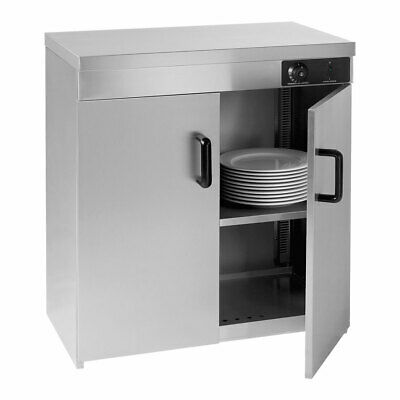 Electmax Double Cabinet Plate Warmer With 120 Plate Capacity