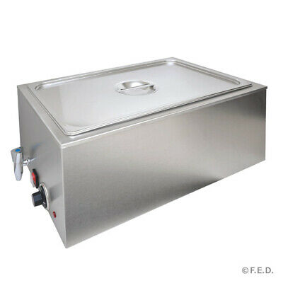 Benchstar Heated Bain Marie with Drain 1/1 GN