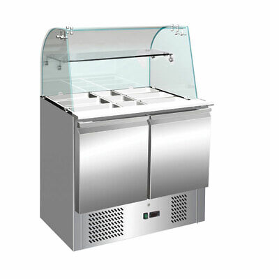 Thermaster Compact Workbench Service Fridge 257L