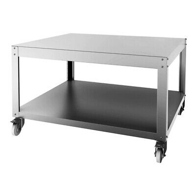 Bakermax Pyralis Circle Stand With Shelf & Castors