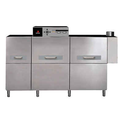 Fagor Concept Electric Rack Compact Conveyor Right to Left Dishwasher 55.9kW