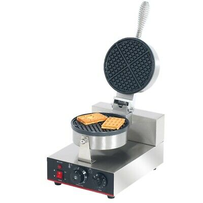Benchstar Single Round Plate Waffle Maker Power 1.2kW Waffle Makers