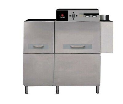 Fagor Electric Coneyor Right To Left Dishwasher with Dual Speed 46.2kW