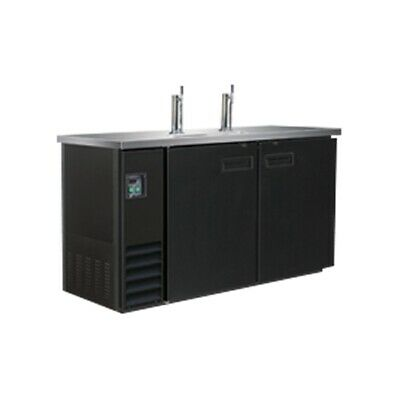 Thermaster Bar King Double Door Underbar Direct Draw Dispenser 2 Barrel