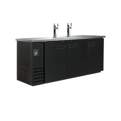 Thermaster Triple Door Underbar Direct Draw Dispenser 3 Barrel