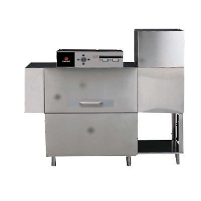 Fagor Electric 50L Coneyor Left to Right Dishwasher with dryer & Splash guard