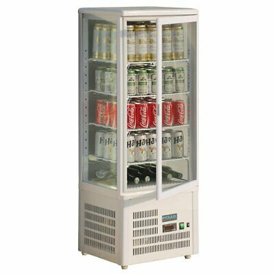 Polar Chilled Display Cabinet - 98Ltr