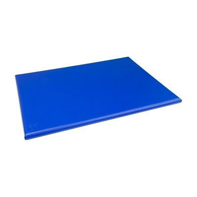 Hygiplas High Density Chopping Board Blue - 24x18x1""