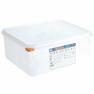 Araven Food Containers - GN 2/3 13.5Ltr with Lids (Box 4)