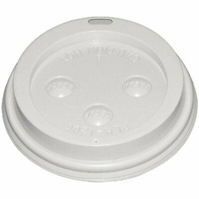 Fiesta Lid for Hot Cups White - 12/16oz (Box 1000)