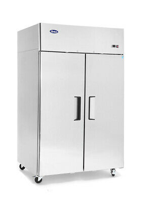 Atosa Top Mounted Double Door Freezer Solid Door Freezers