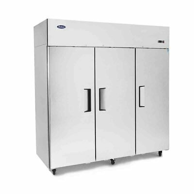 Atosa Top Mounted Three Door Freezer Solid Door Fridges