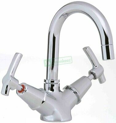 3Monkeez Lever Handle Basin Twinner Taps and Rinse Jets