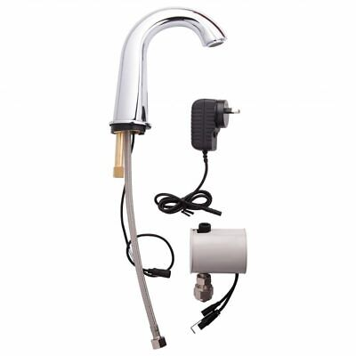 3Monkeez Gooseneck Basin Mounted Infrared Sensor Tap. Mains Powered