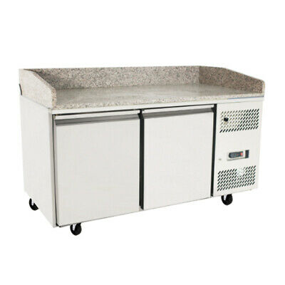 Atosa 2 Door Refrigerated Pizza Table